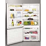 Fisher Paykel E522BLX 17.6 cu ft Bottom-Freezer Refrigerator - Stainless Steel with Left Hinge