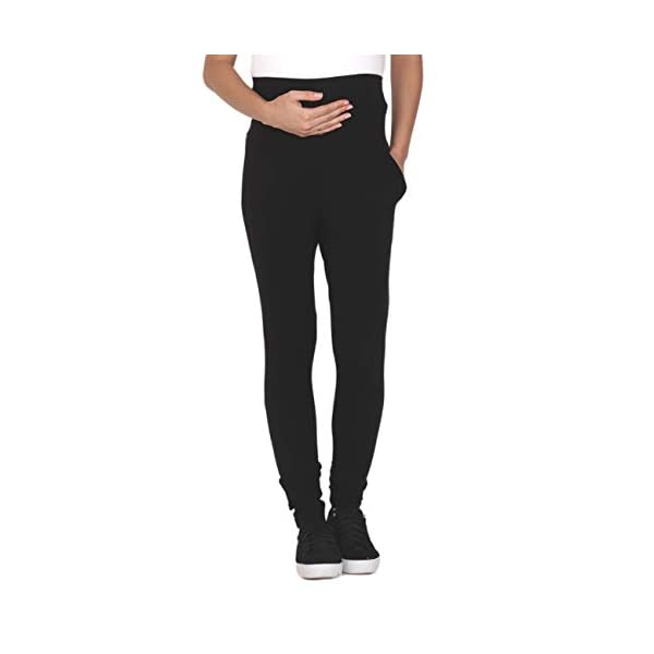 Mommy Organic Maternity Leggings With Pockets India
