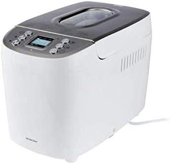 Silvercrest Machine /à pain automatique en m/étal 850 W 12 programmes P/âtes Confitures Couleur Noir