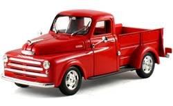 1948 Dodge Pickup Truck Red 1/32