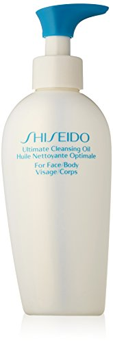 - Shiseido Ultimate Cleansing Oil for Face and Body Clean, 5 Ounce