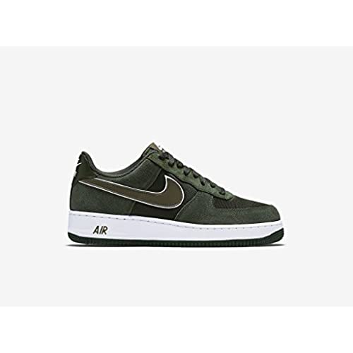 Nike Air Force 1 '07 PRM WhiteBlack Vast Grey Green Gold On Sale