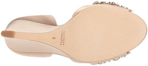 Badgley Mischka Women's Hardy Wedge Sandal Nude Z2gcB