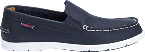 on Sebago Slip Litesides marine Cuir Sebago Men's Men's Shoes bleu xO1nS4wW