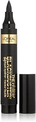 L'Oreal Paris Infallible Never Fail Liquid Eyeliner, Black [700] 0.084 oz