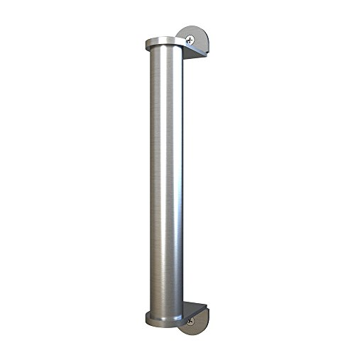 10in Stainless Steel Side Mount Pipe Handle Pull for Sliding Barn Door by JUBEST (Image #3)