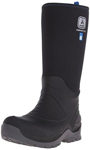 Kamik Mannen Vat Rubberen Laarzen Zwart (black-noir)