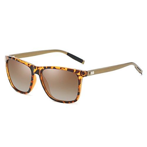 de lunettes soleil lunettes soleil soleil lunettes UV400 Thé Tortue pour Rocf de Polarized Man femmes Wayfarer de Cheapass Rossini Vintage IIOx68