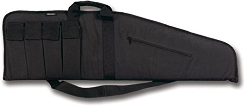 Gun Extreme Case (Bulldog Cases Extreme Tactical Rifle Case with Additional Magazine Pouches Assault Rifle case with Exterior Zipper Pouch)