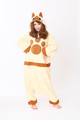 SAZAC Kigurumi - Monster Hunter - Airou - Onesie Halloween Costume - Adult One Size Fits All -