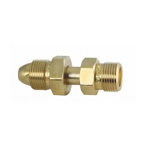 Uniweld f brass adaptor from cga tank to