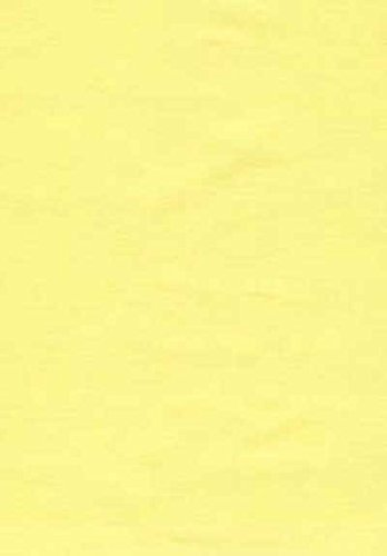 SheetWorld Crib / Toddler Sheet - Solid Yellow Woven - Ma...