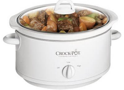 Sunbeam Products 3735-WN-NP Crock Pot With Removable Crock, White, 3.5-Qt. from Sunbeam Products