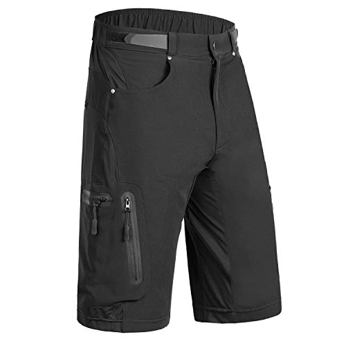 Kutook Mountain Bike Shorts MTB Shorts for Men Climbing Shorts ()