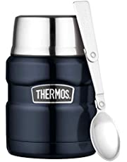 Thermos Stainless King Vacuum Insulated Food Jar, 470ml, Midnight Blue, SK3000MBAUS