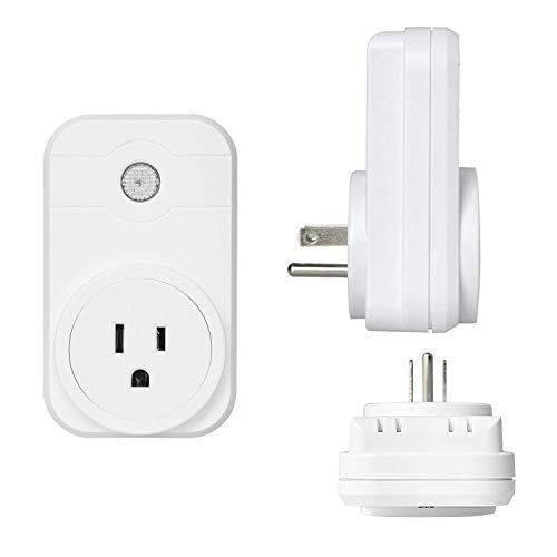 Smart Plug by Annstory Compatible with Alexa, Google Home, 2 Packs WiFi Socket Outlet with App Control your Devices from Anywhere wifi plugs by Annstory