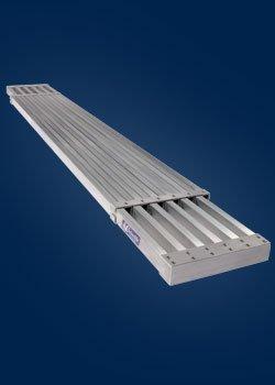 LOUISVILLE LADDER LP-2921-13A Aluminum Expand Plank Ladder, 8'-13'