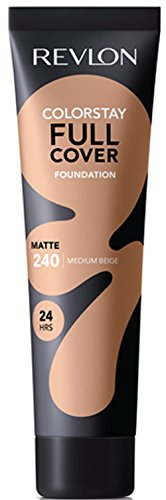 Revlon ColorStay Full Cover Foundation, Medium Beige, 1.0 Fluid Ounce