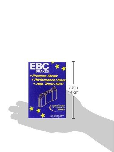 EBC Brakes DP6973 6000 Series Greenstuff Truck and SUV Brake Pad