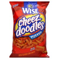 Wise Cheez Doodles, Puffed, 9.5 oz, (pack of 3)