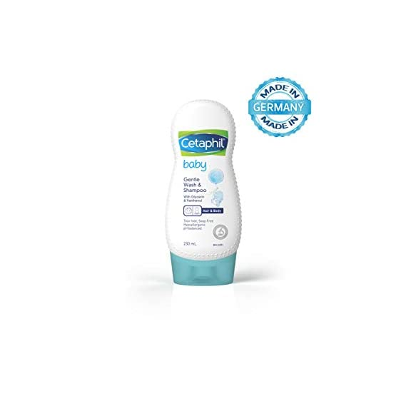 Cetaphil Baby Shampoo and Wash, 230 ml