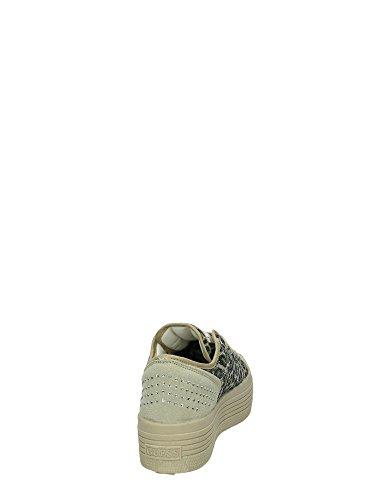 3 Active Brunilda Bottom Guess Glitter Natural Woman Sneaker Lady Cm qrq0wvT