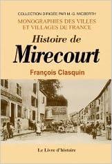 Livres gratuits Mirecourt (Histoire de) pdf, epub ebook