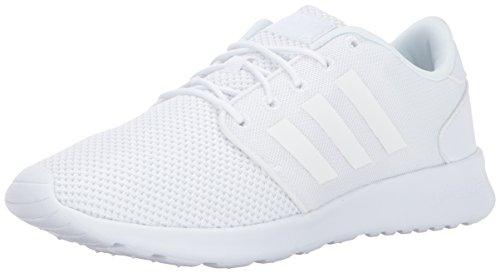 adidas Womens Cloudfoam QT Racer W Running Shoe Triple White