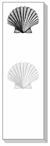 Ars Antigua Slim Writing Blocs (Notepads) Scallop Shell Engraving 1790 Two Blocs of 50 Sheets Each - Total of 100 Printed ()