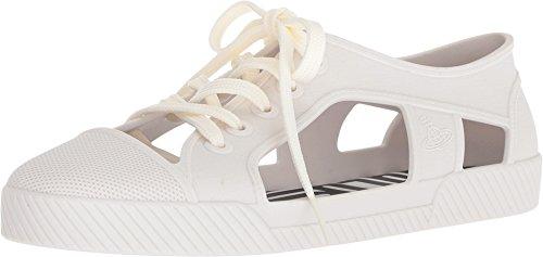 melissa Women's x Vivienne Westwood Brighton Sneakers, White, 6 M US