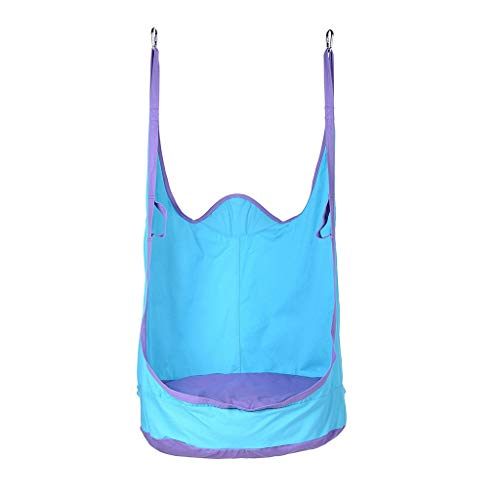 Lady Lake tk - Kids Inflatable Cushion Hanging Hammock Chair Swing Seat Toy Kids/Baby Indoor & Garden Patio Fun Blue - Type 1 (Types Patio Of)