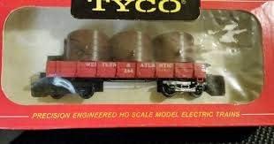 Tyco Red Box Series HO Western /& Atlantic 1890 Water Car Original Box 322B