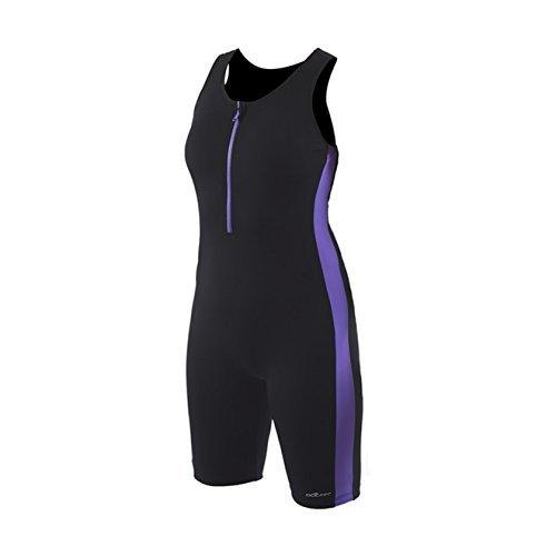 Dolfin Women's Zip-Front Swim Aquatard 12