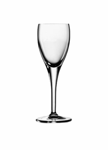 2 Cordial Glass - Luigi Bormioli 10362/01 Michelangelo 2.25 oz Liqueur Glasses (Set of 4), Clear