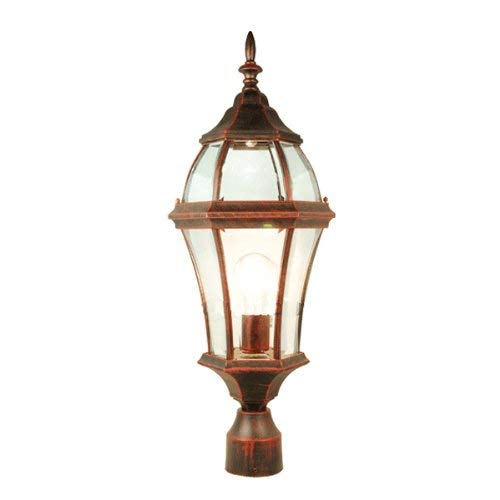 - 50% CLEARANCE Luxurious Outdoor Victorian Street Lantern Antique Copper Finished Weather Resistant, APLIQ359