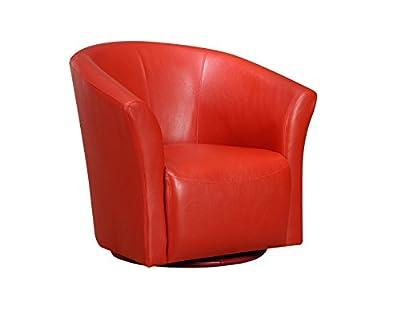 Picket House Furnishings Radford Swivel Chair Riviera 6273 Red -