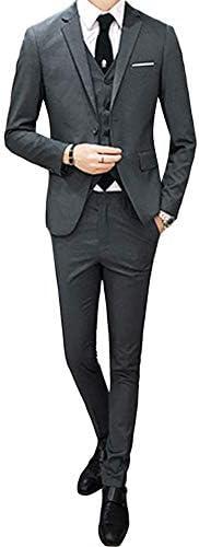 [Mirroryou(ミラーユー)]スーツ スリーピース メンズ フォーマル スリム 4XL