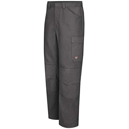 Red Kap 34'' X 36'' Charcoal 8 Ounce Polyester/Cotton/Spandex Pants With Button Closure by BULWARKRED KAP (Image #1)