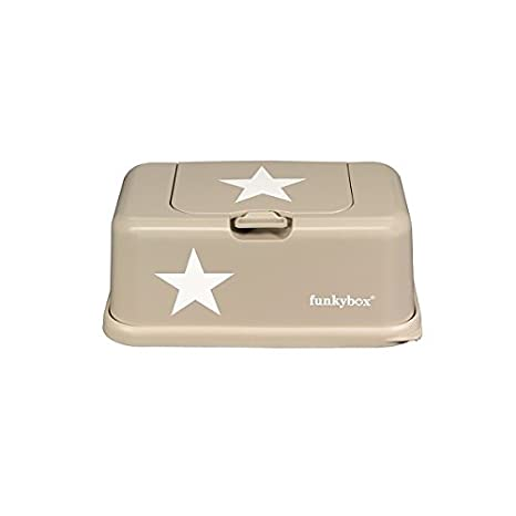 557231fd3d3 Buy Funkybox Baby Wipes Box Star Motif Beige Online at Low Prices in India  - Amazon.in