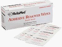 Reliamed Adhesive Remover Wipes -Box of 50
