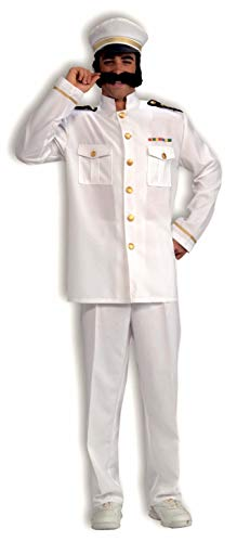 Cruise Director Halloween Costume (Forum Novelties Men's Cruise Captain Costume, White/Blue,)