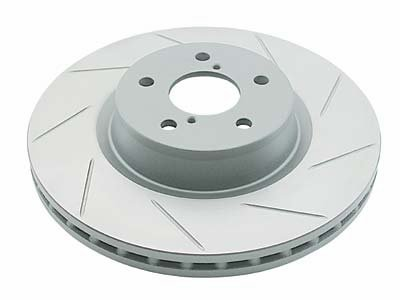 DBA DBA910SL Street Series Slotted Left-Hand Disc Brake Rotor (Front, Vented) (Dba Street Series)