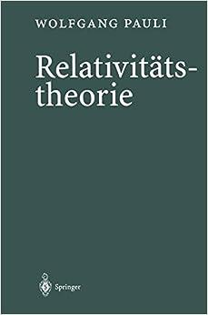 Book Relativitätstheorie