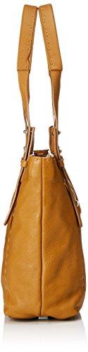 Shoppers Harrison bolsos Heasti Liebeskind y Berlin Mujer Marrón Cognac de hombro Zq5gwt