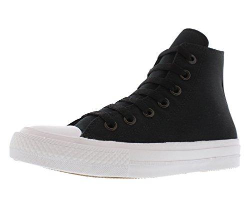 Converse Unisex-Kinder CTAS II Hi Sneakers Black / White