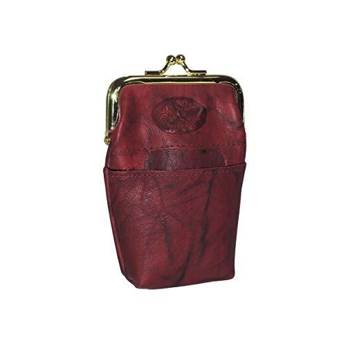 Buxton Heiress Pik-Me-Up Framed Case, burgundy