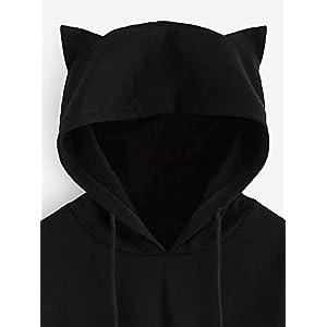 engzhoushi Women Hoodie, Greatest Showman Cat Ear Hoodie Sweater Women S The Greatest Showman Lumbar Sweatshirt Hooded…