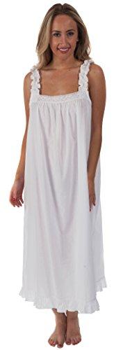 The 1 for U 100% Cotton Sleeveless Nightgown 7 Sizes - Jane (100 Cotton Sleeveless)