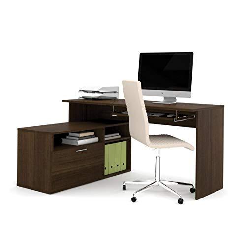 - Bestar Small L-Shaped Desk - Modula