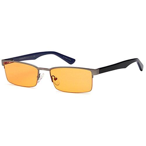 GAMMA RAY Optics 007 Computer Gaming Reading Glasses with Se